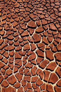 Frans Lanting - Cracked mud, Hawaii