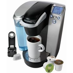 Keurig K75 Single-Cup Home-Brewing System Single Cup Coffee Maker, Best Coffee Maker, Single Serve Coffee, Barista, Coffee Maker Reviews, Juicers, K Cups, Blenders, Home Brewing