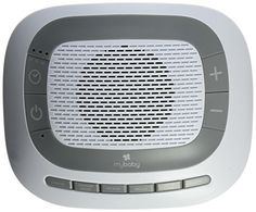 myBaby SoundSpa White Noise Machine, Plays 6 Soothing Sou...