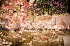 White Lilac, Inc.  Amazing Wisteria installation