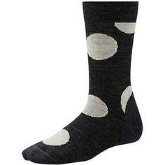 Women's Polk-a-dot Crew Socks size L