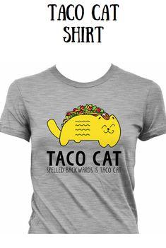 357408c908 Funny Taco Shirt Cinco De Mayo T Shirt Taco Cat T Shirt Mexican Food Joke  Gifts