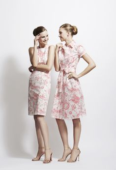 What do you think of the flirtatious pink Marilyn Toile from the #HerreraArchive collection?