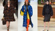 Tendance hiver 2015 2016 Doudounes matelassées, défilés Fendi, Moschino et Chanel