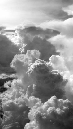 Clouds Wallpaper Iphone, White Wallpaper For Iphone, Cloud Wallpaper, Black And White Wallpaper, Dark Wallpaper, Iphone Wallpaper Minimal, White Background Wallpaper, Gif Background, Gray Aesthetic