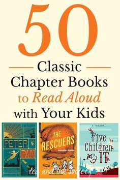 Ultimate List of Classic Chapter Books to Read Aloud with Your Kids (or to read on your own…) These old-fashioned classic chapter books make great family read-alouds. Or, read them on your own if you missed these chapter books when you were growing up! Read Aloud Books, Good Books, Books For Boys, Childrens Books, Audio Books For Kids, Baby Books, Homeschool Books, Homeschooling, John Wilson
