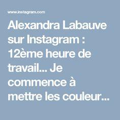 Alexandra Labauve sur Instagram: 12ème heure de travail... Je commence à mettre les couleurs 😊😍 #dessincrayon #art🎨 #drawing #myart #passion #zen #méditation…