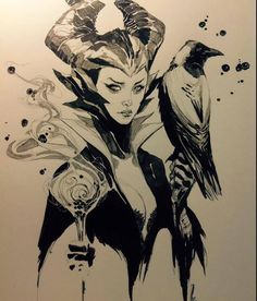 Maleficent by Kenneth Rocafort *