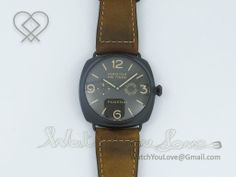PAM339 M Radiomir Composite Brown Dial on Brown Asso Strap