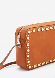Stud cross body bag -  Women | MANGO USA