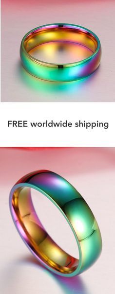 Rainbow Colorful Ring