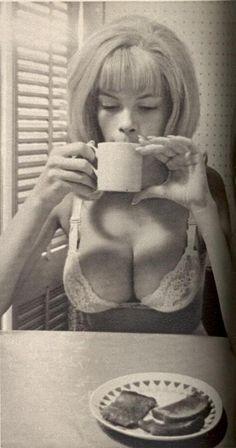 Breakfast and lingerie <3