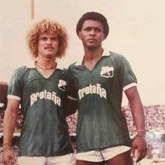 Valderrama & Redin 1985-1986 - Deportivo Cali