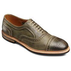 Strandmok - Cap-toe Balmoral Lace-up Oxford Men's Casual Shoes by Allen Edmonds