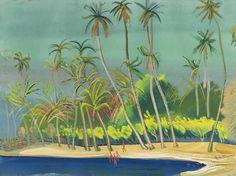 The Blue Bay, Brazil - Boris Grigoriev
