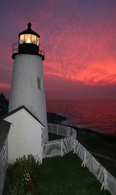 Pemaquid Point Lighthouse:  my parents' summer home on the coast was in walking distance of this lighthouse.
