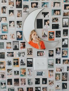 Polaroid wall h o m e y in 2019 room decor, dorm room, diy room. Dorms Decor, Dorm Decorations, Decoration Bedroom, Decor Room, Hipster Room Decor, Picture Room Decor, Cheap Room Decor, Photo Room, Dorm Room Art