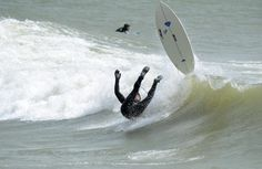 Surfing on the Great Lakes by Dave J Wipe Out, Interesting History, Lake Michigan, Great Lakes, Surfboard, Surfing, Sports, Hs Sports, Surfboards