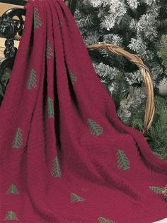 Free Download: Pine Forest Afghan