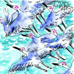 Lilly Pulitzer sea gulls