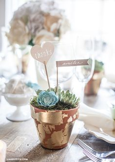 DIY Wedding Favor Ideas from MichaelsMakers Lia Griffith
