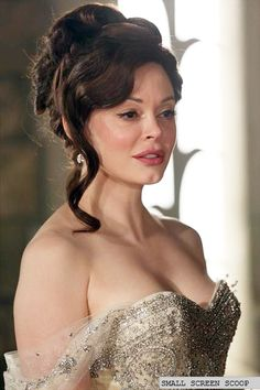 Rose McGowan as Cora in Once Upon a Time - gorgeous wedding dress