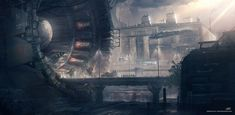 concept ships: Concept ships by Sebastien Hue