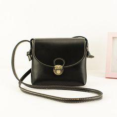c607e5b8b677 Long Strap Leather Women Messenger Bags Small Vintage Leather Handbags  Cheap Crossbody Bag for Women Bag