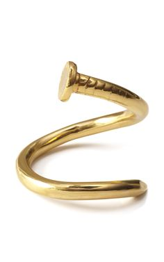 Tom Binns Voilà Twisted Nail Cuff