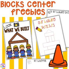 preschool classroom set up How to set up the blocks center in your early childhood classroom (with ideas, tips, and book list) plus block center freebies Block Center Preschool, Kindergarten Centers, Kindergarten Center Management, Teaching Kindergarten, Preschool Classroom, Preschool Activities, Classroom Freebies, Classroom Ideas, Preschool Set Up