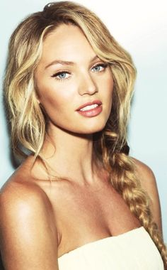 Candice Swanepoel. I'll just go lose my whole body now..