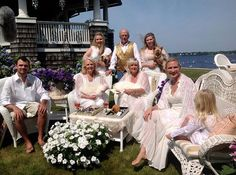 The Kirks Family at Seaview