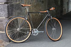 Victoire Cycles for Berluti #bicycle #custom #urban