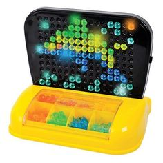 "Lumimo Light Board Coordination Toy by Playgo. $23.96. Prepare to be surprised! We tested this light-up pegboard against the leading brand, and li'l finger-friendly Lumimo won ""hands down."" Why: the pegs are larger and easier for kids to push in, and the divided storage tray is better organized and more accessible. Less frustration means more creative playtime! Great for kids' coordination and focus. Includes 240 pegs in six colors and 20 pictures. The pegboard attac..."