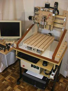 Wooden cnc milling machine linuxcnc diy