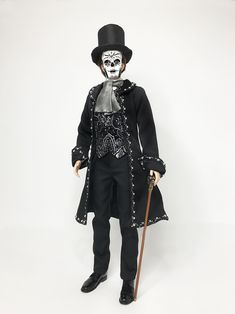 Day of the Dead Victorian Silkstone Ken