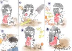 1/2 やんくろねこ Attack On Titan Funny, Attack On Titan Anime, Eren X Mikasa, Armin, Aot Funny, Rivamika, Eremika, Akame Ga, Kawaii Chibi