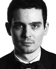 """Best Director and Best Screenplay, Damien Chazelle for """"La La Land"""". Photo by and Celebrity Photographers, Celebrity Portraits, Best Director, Film Director, Damien Chazelle, Best Screenplay, Cinema Movies, Music Film, Black And White Portraits"""
