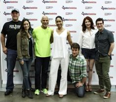 We never get tired of seeing these faces together - #Firefly reunion at Dallas Comic Con #serenity #whedon pic.twitter.com/ApJD4G0mkV