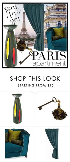 """PARIS APARTMENT"" by francoisefortier ❤ liked on Polyvore featuring interior, interiors, interior design, home, home decor, interior decorating, Haute House, HiEnd Accents, vintage and paris"