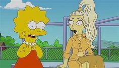 Lady Gaga e i Simpson: la Germanotta guest star per una puntata