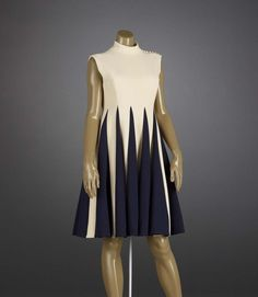 Dress.1968-1971.  Norman  Norell (American, 1900-1972) Indianapolis Museum of Art