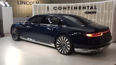 Lincoln Continental Concept In New York 2015   Autoblog Short Cuts