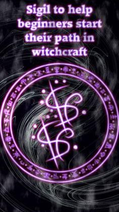 Sigil to help beginners start their path in witchcraft