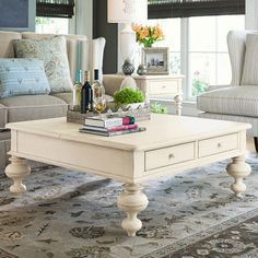 This coffee table would be perfect for my new living room...Bunnewith Coffee Table in Linen