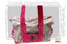 El Grande Weekender, Sporttasche, Badetasche, Star von Die tapfere Schneiderin, handmade with love ... by Viola auf DaWanda.com