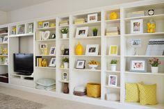 Afbeeldingsresultaat voor billy boekenkast decoratie