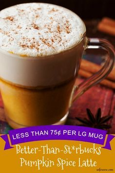 This pumpkin spice latte will save your money, your conscious, and your taste buds.