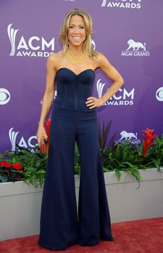 Singer Sheryl Crow arrives at the 48th Annual Academy of Country Music Awards at the MGM Grand Garden Arena in Las Vegas on Sunday, April 7, 2013. (Photo by Al Powers / Invision)