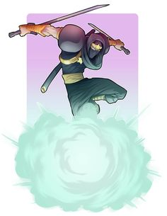 Ginzu the ninja by Nezart on DeviantArt
